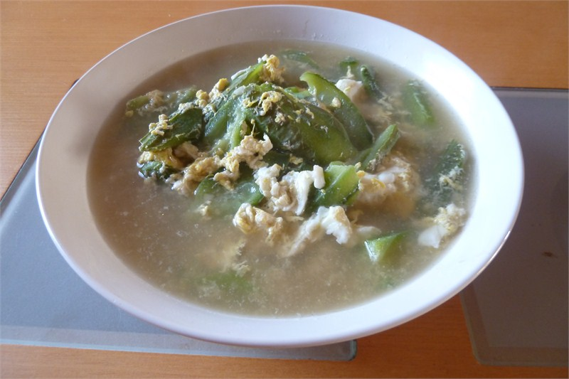 Angled Gourd And Egg Soup