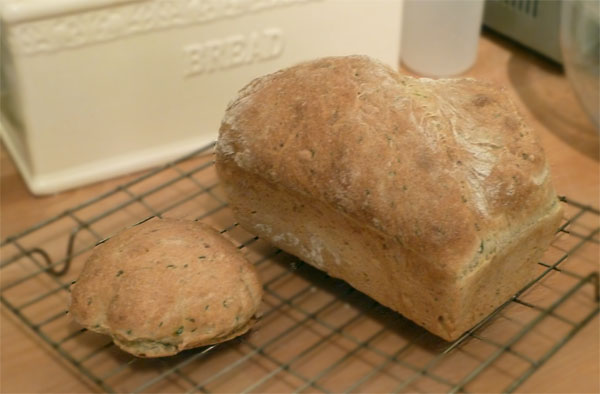 Fresh From the Oven August Challenge – Courgette Bread