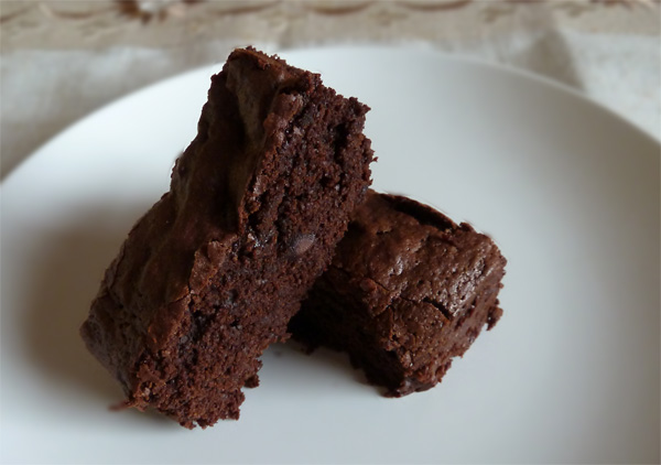 Butterless Chocolate Brownies